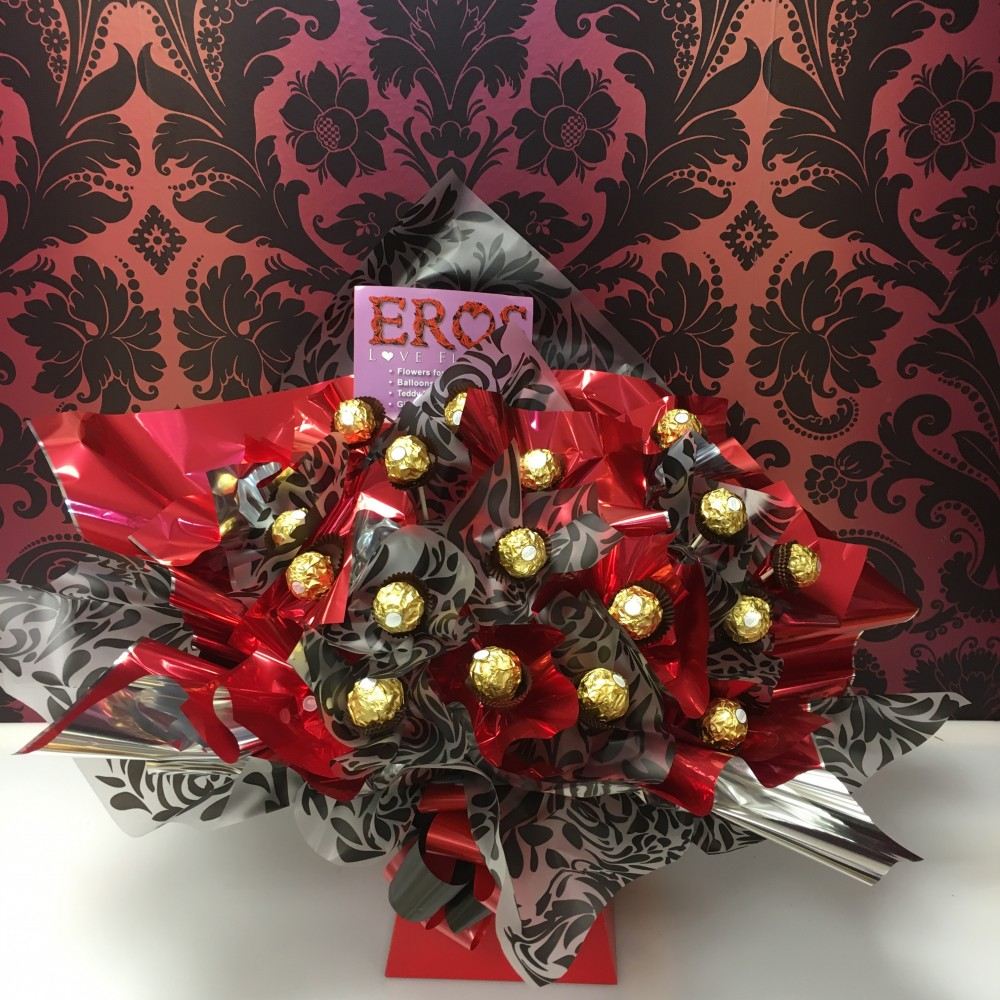 Ferrero rocher red black eros flowers ferrero rocher red black izmirmasajfo Images