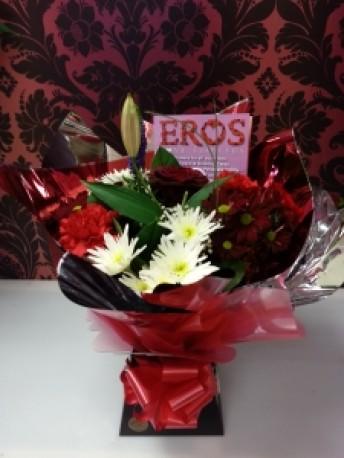 Eros Red Explosion