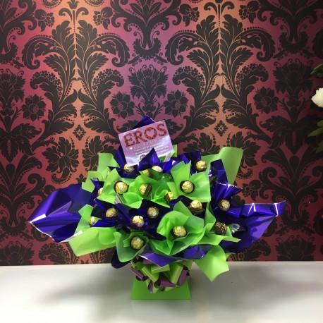 Ferrero Rocher Lime & Purple